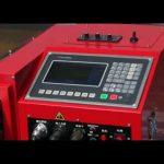 Découpeuse de gaz de flamme de plasma de cnc de rail lourd de 1800mm