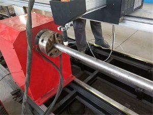 2017 nouveau type de machine de coupeur de tuyau de métal de plasma, machine de découpage de tube en métal de commande numérique par ordinateur
