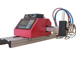 machine de découpage de plasma de flamme de commande numérique par ordinateur de portique chaud de vente avec le thc pour l'acier
