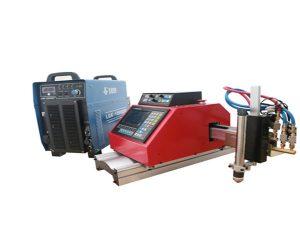 machine de découpage de plasma de commande numérique par ordinateur automatique portable acier aluminium inoxydable