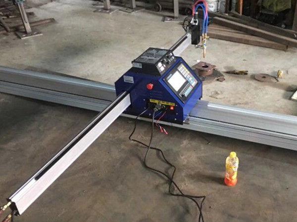 Découpeuse de plasma CNC portable en métal 15002500mm bon marché en Chine avec CE