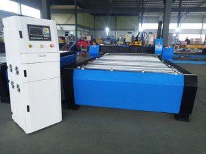 Chine cnc machine de découpe plasma hyper 125a tôle épaisse 65a 85a 200a en option jbt-1530