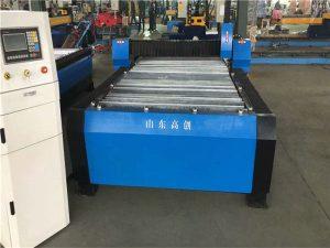 Plaque de la machine 10mm de commande numérique par ordinateur de découpage de plasma de la Chine Huayuan 100A
