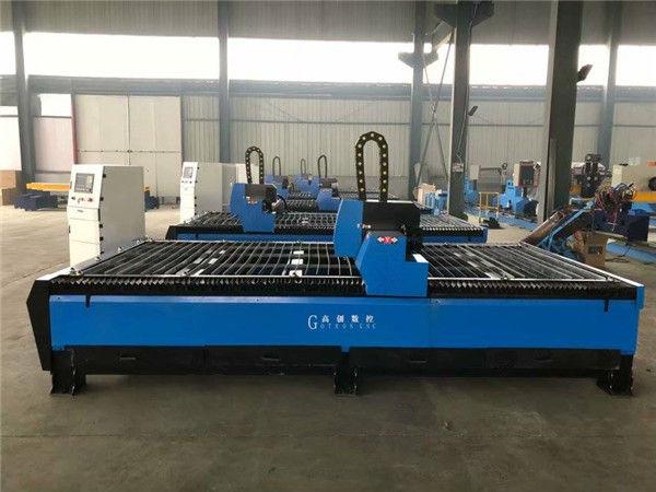 Machine de découpe de plasma et de flamme en métal CNC chinoise