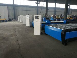 Machine de découpe à flamme plasma portable table / banc de bureau / matériel Machine de découpe en acier inoxydable cnc