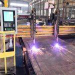 double entraînement portique cnc machine de découpe au plasma h ligne de production de faisceaux hypertherm cnc système