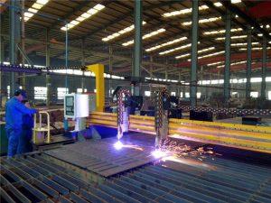 portique cnc plasma machine de découpe à la flamme machine de découpe de tôle d'acier