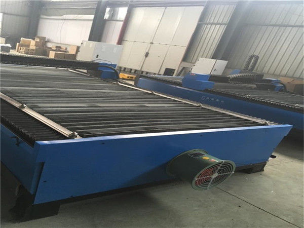 Vente chaude tôle de coupe en acier au carbone en acier inoxydable 100 A plasma cutter cnc 120 machine de découpe plasma