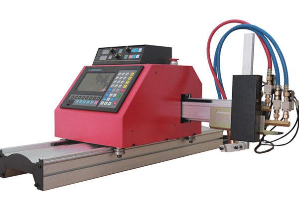 Découpeuse FlamePlasma de commande numérique par ordinateur de tube en acier carré multifonctionnel avec de haute qualité