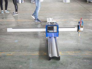 nouvelle technologie micro start cnc métal cutter / portable cnc plasma machine de découpe