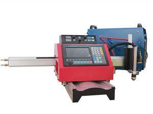 voie en acier de machine de découpage au gaz de machine automatique de découpage de plasma de commande numérique par ordinateur de plasma
