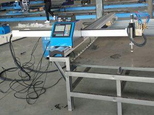 machine de découpage en métal de prix économique de découpeuse de plasma de cnc portable