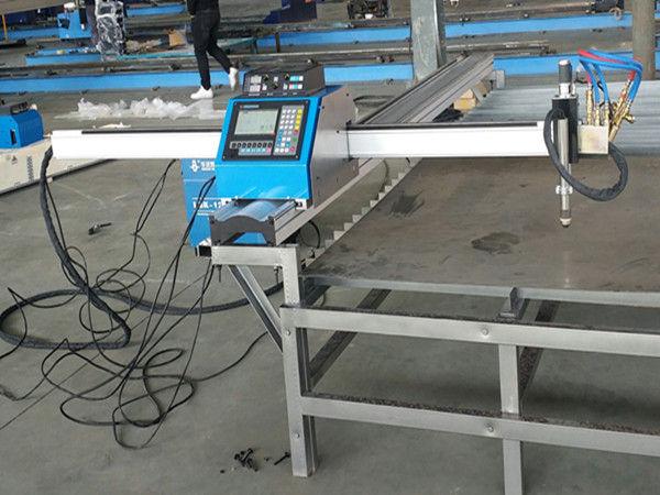 Machine de découpage en métal de prix économique de découpeuse portative de plasma de commande numérique par ordinateur