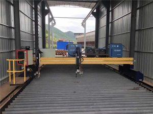 machine de découpage de plasma de commande numérique par ordinateur précise 13000mm servo moteur