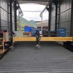 tôle d'acier 1500x3000mm taille cnc plasma tôle machine de découpe