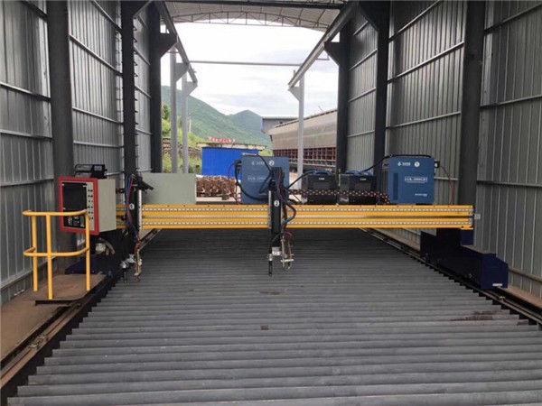 Découpeuse de tôle de plasma de commande numérique par ordinateur de taille de la tôle d'acier 1500x3000mm