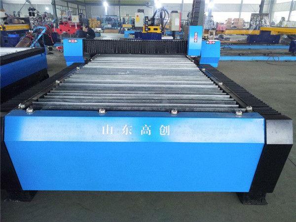 Plaque de métal pour la découpe au plasma cnc de petites machines pour la fabrication de machines de découpe d'argent