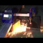 machine de découpage de plasma de flamme de tuyau de commande numérique par ordinateur portable mini à petit coût pour couper le métal en acier inoxydable