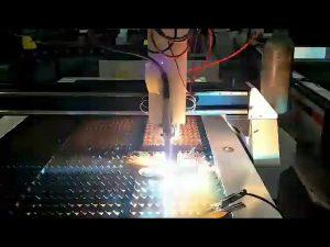 coupeuse de plasma de coût bas tôle d'acier cnc petite découpeuse de plasma