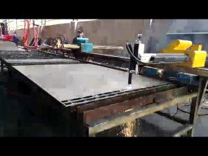 flamme portative de découpeuse en acier en métal, prix de découpeuse de plasma