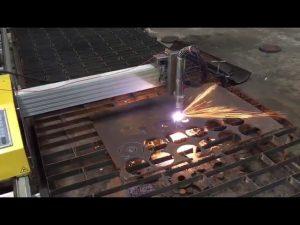 Machine de découpe à la flamme cnc portable avec Hypertherm 45
