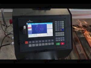machine de découpe portable à la flamme plasma cnc avec servomoteur
