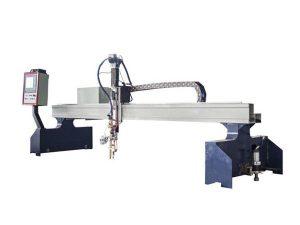 découpeuse en métal de pantographe de commande numérique par ordinateur de petit portique / coupeur de plasma de commande numérique par ordinateur
