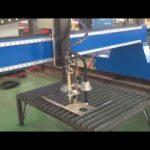 machine de découpage de plasma de flamme de plaque d'acier cnc de mode largement utilisée